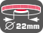 Diametru orificiu central pentru montare