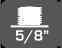 Filet racordare trepied 5/8 inchi