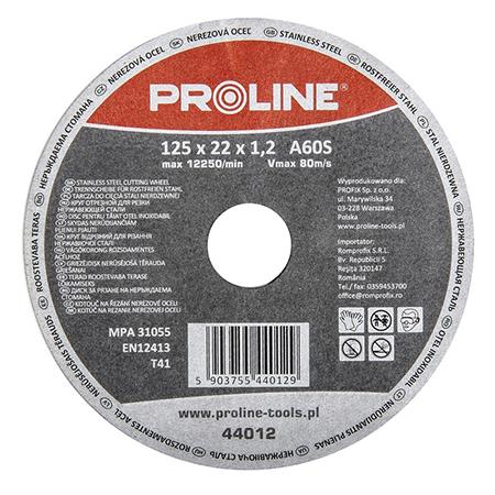 DISC DEBITARE INOX 125X1.0MM / A60S