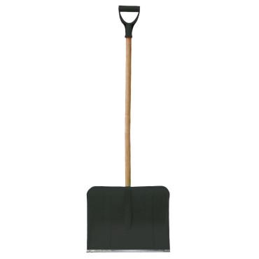 Lopata zapada plastic cu maner lemn 455x360mm