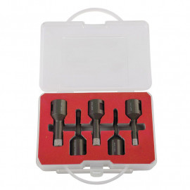 set carote diamantate cu filet fixare 5-12mm - 5p.