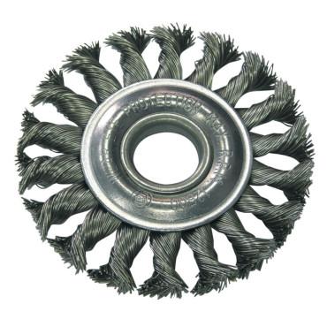 Perie sarma impletita tip circular cu orificiu 100mm