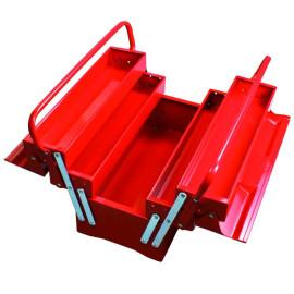 cutie scule metal cu 2 manere 404x200x240mm / 3 sertare