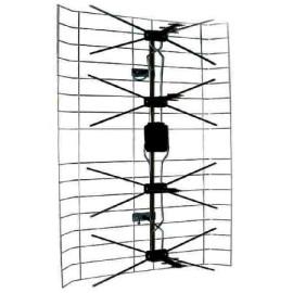 antena exterior cu amplificator 13.5-60db