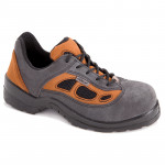 pantof piele-intoarsa-tesut (sb)