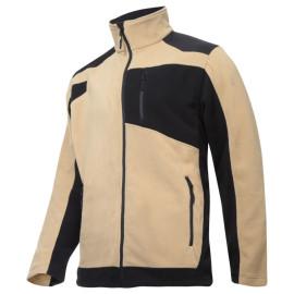 jacheta polar cu intaritura / bej - s