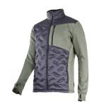 jacheta mediu-elastica cu matlasare / verde-negru