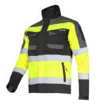 jacheta reflectorizanta slim-fit / verde