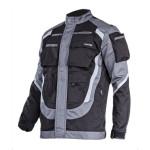 jacheta lucru groasa premium negru-gri