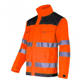 jacheta reflectorizanta intarita / portocaliu - s