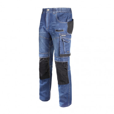 Pantalon lucru tip-blugi slim-fit elastic - s/h-164