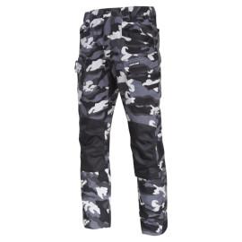 pantalon interventie intarit / camuflaj - l