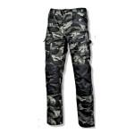 pantalon interventie intarit / camuflaj-verde