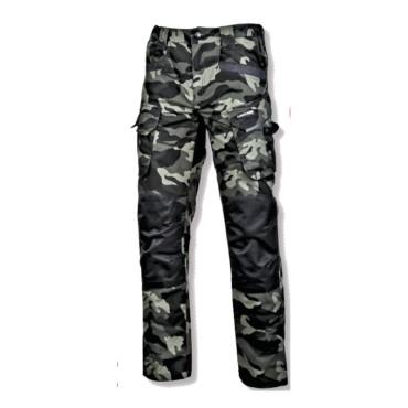 Pantalon interventie intarit / camuflaj-verde - s