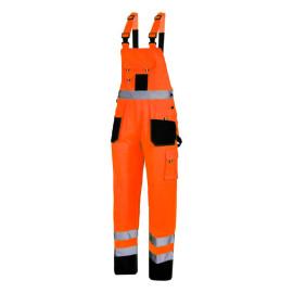 salopeta reflectorizanta intarita / portocaliu - 3xl