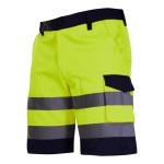 pantalon reflectorizant scurt