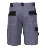 Pantalon lucru bumbac scurt / gri - s/h-164