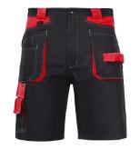 Pantalon lucru bumbac scurt / negru - s/h-164