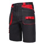 pantalon lucru bumbac scurt / negru