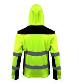 Jacheta reflectorizanta elastica / verde - s