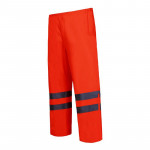 pantalon reflectorizant impermeabil / portocaliu