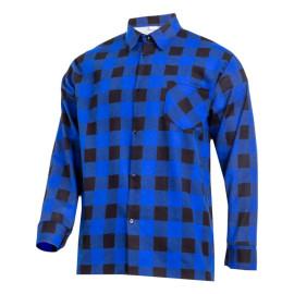 camasa flanel cu carouri / albastru - 2xl/h-188