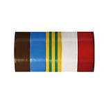 benzi izolatoare multicolor 19x0.13mm / 10m, 5/set