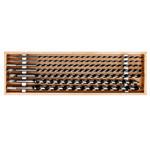 set burghie lemn sfredel 6-18mm  / 460mm - 7p.