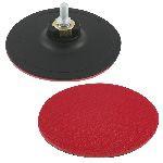 suport disc abraziv auto-adeziv cu tija-filet