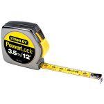 ruleta plastic cromata 12ft/3.5mx13mm