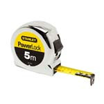 ruleta plastic cromata armata 5mx19mm