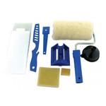 set unelte pentru zugravit cu recipient interior - 6p.