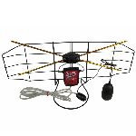 antena camera cu amplificator si reglaj 30db