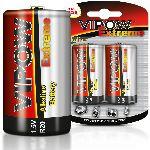 baterie super-alcalina 1.5v d-lr20 / blister, 2/set
