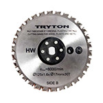 accesoriu tpd860k - disc metal/lemn/plastic 125 mm