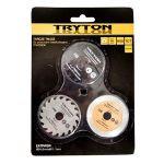 accesoriu tpw500k - disc metal/lemn/diamantat 54 mm, 3 p.