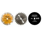 accesoriu tpw600k - disc metal/lemn/diamantat 89 mm, 3 p.