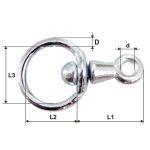articulatie inel – inel/tija