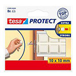 protectie patrata antisoc - 10x10mm, 8/set