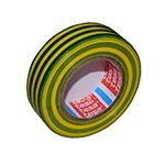 banda izolatoare basic 15mm / 10m - galben/verde